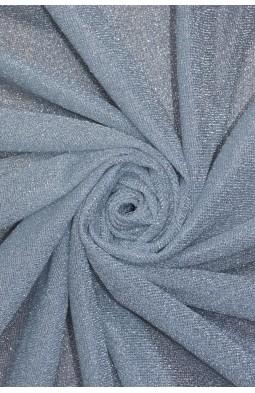 7124 Трикотаж люрекс цв.10 серебра