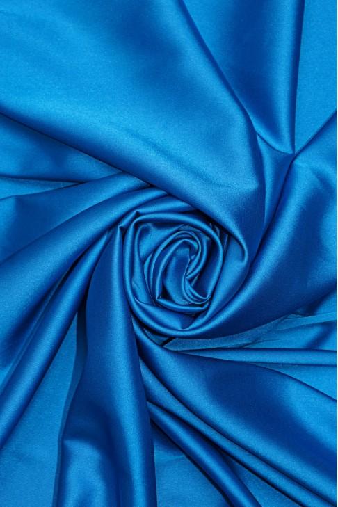 02091 Атлас цв. S06 ярко голубой