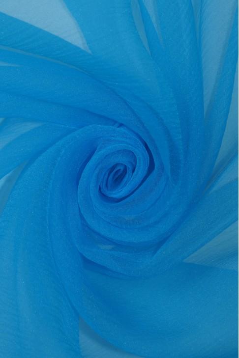 1991 Органза цв.10 голубой
