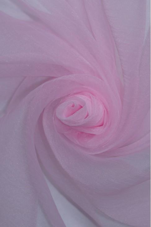 1991 Органза цв.01 св.розовый
