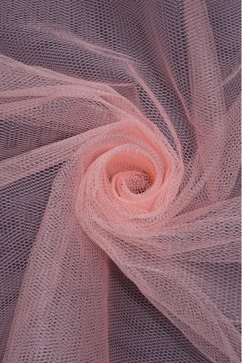 01680 Фатин жесткий цв.04 персиковый
