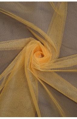 01680 Фатин жесткий цв.07 св. оранжевый