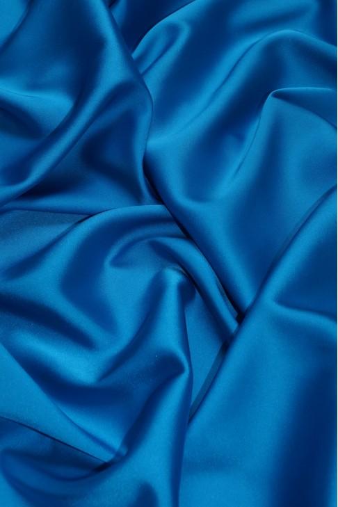 02091 Атлас цв. 14 т.голубой