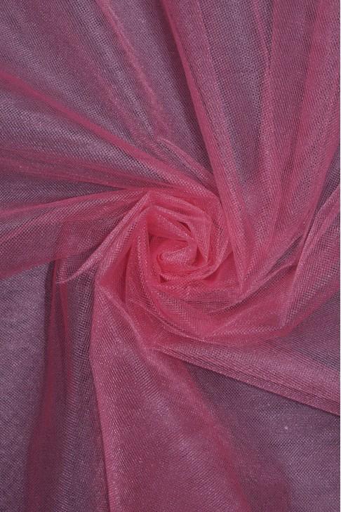 01060 Фатин с блеском цв.38 чайная роза