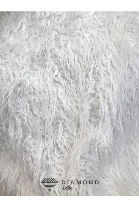 12179 Мех цв.01 белый