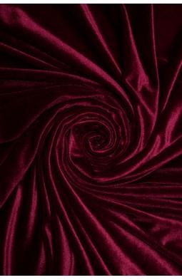 Бархат цв.01 бордовый