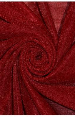 00599 Трикотаж Металик цв.03 красный
