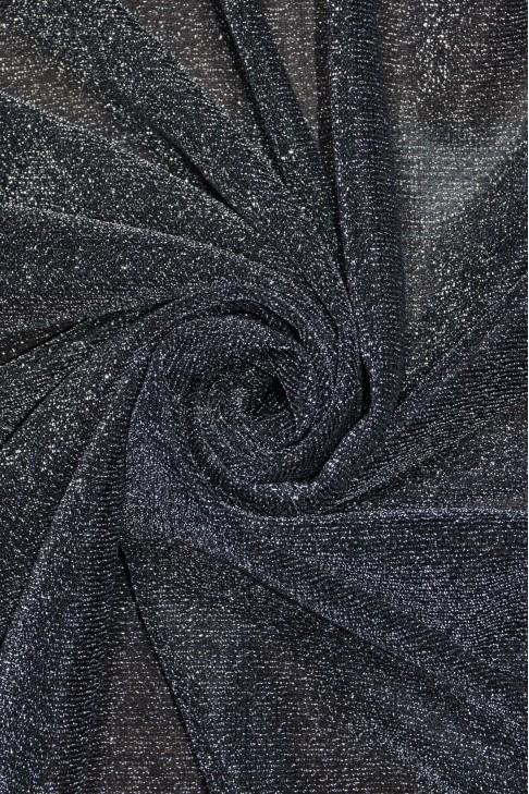00599 Трикотаж Металик цв.04 т.серебро