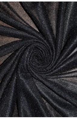 00599 Трикотаж Металик цв.06 черный