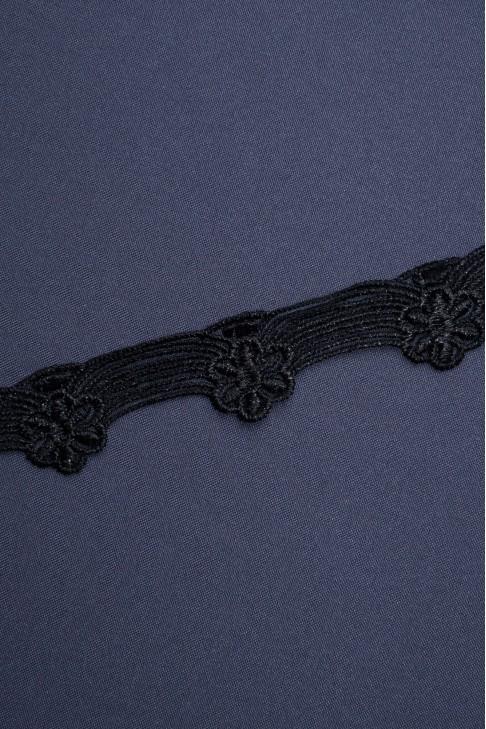 1093 Кружево макраме цв.черный
