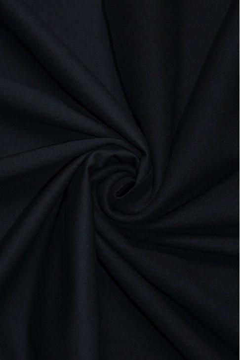 19646 Трикотаж на флисе цв.черный