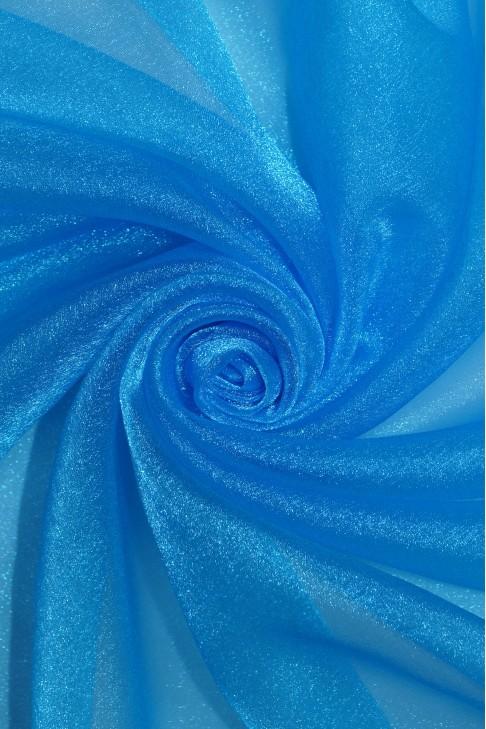 1010 Органза цв.10 голубой