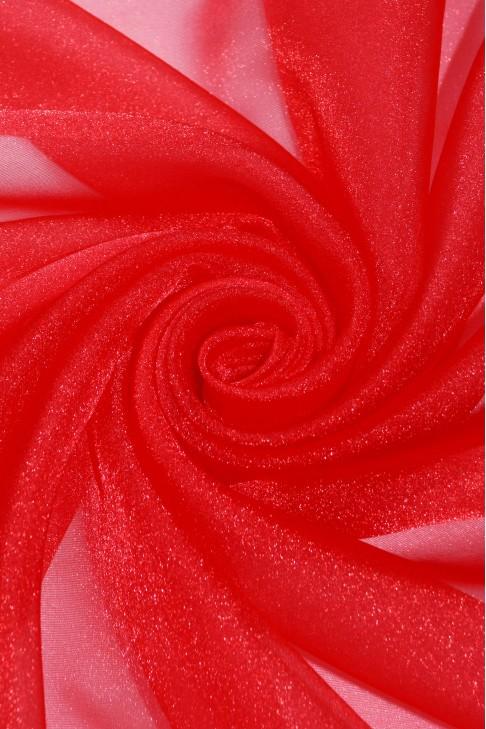 1010 Органза цв.14 красный
