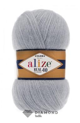 Ангора Реал 40 цв.21 серый