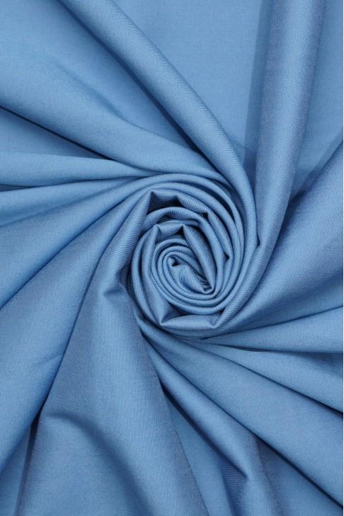 1839 Коттон рубашечный цв.01 голубой