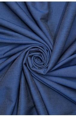 1839 Коттон рубашечный цв.02 т.синий