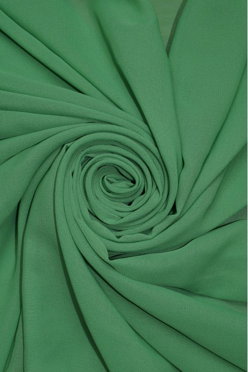 01777 Шифон Lot  B цв. 37 бледно зелёный