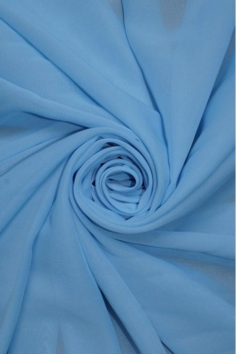 01777 Шифон Lot  B цв. 09 небесно голубой