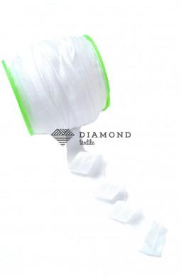2901 Резинка бейка трикотажная цв.белый