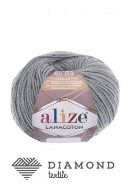 Лана Котон цв.21 серый меланж