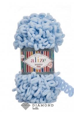 Пуффи Файн цв.218 детский голубой