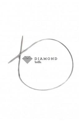 Спицы круговые Stainless steel металлические на тросе 2.5 мм - 40 см