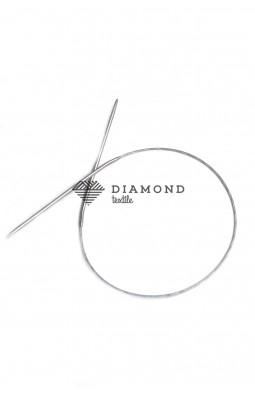 Спицы круговые Stainless steel металлические на тросе 3.0 мм - 40 см