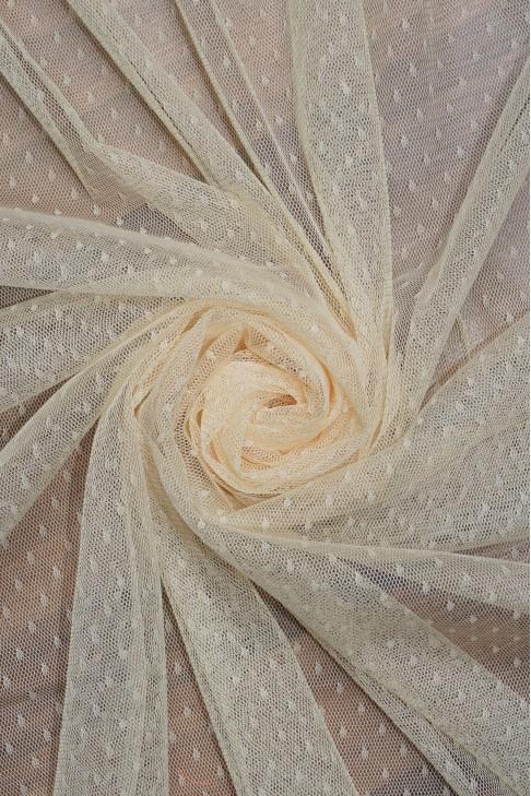 1682 Фатин точка цв. 11 песочный