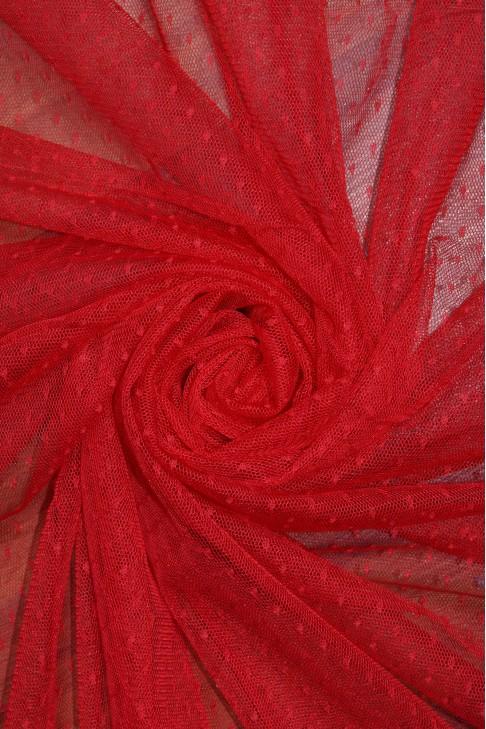 1682 Фатин точка цв. 24 красный