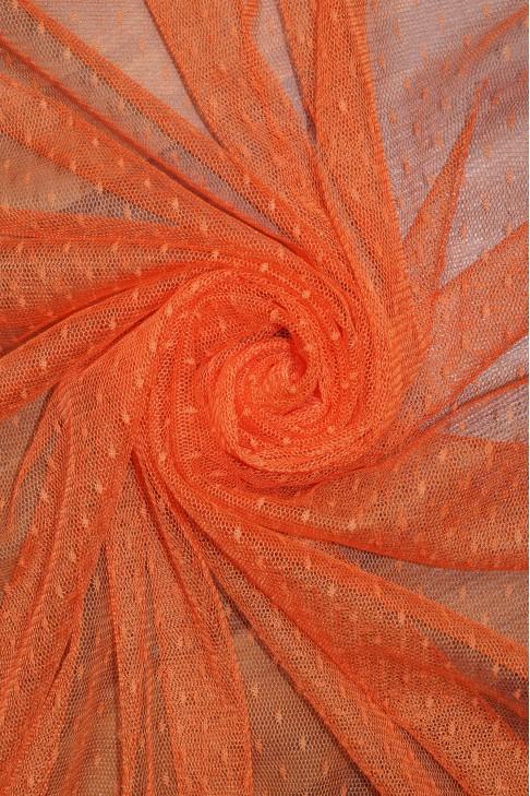 1685 Фатин точка цв.18 оранжевый