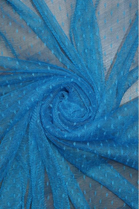 1685 Фатин точка цв.10 голубой
