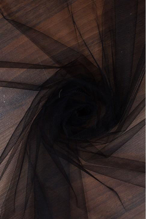 1660 Фатин мягкий 3м цв.04 чёрный