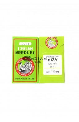 Иглы Organ Needles HAx1 №120/19 (10 шт)