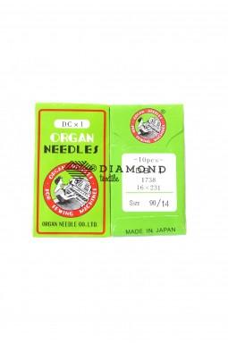 Иглы Organ Needles DBx1 №90/14 (10 шт)