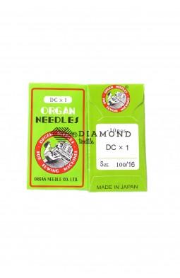 Иглы Organ Needles DCx1 №100/16 (10 шт)