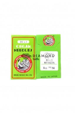 Иглы Organ Needles DCx1 №90/14 (10 шт)