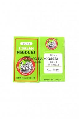 Иглы Organ Needles DCx1 №80/12 (10 шт)