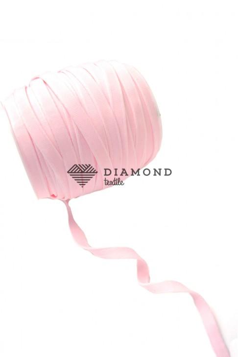 1092 Тесьма тоннельная цв.розовый