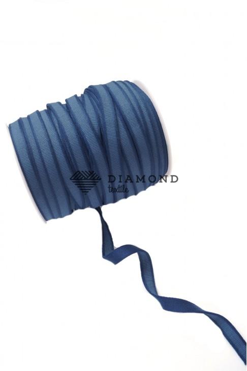 1092 Тесьма тоннельная цв.серо-синий