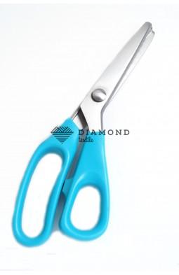 """Ножницы фигурные Зиг-заг """"Pinking Scissors"""" №9/23,5 см цв.голубой"""