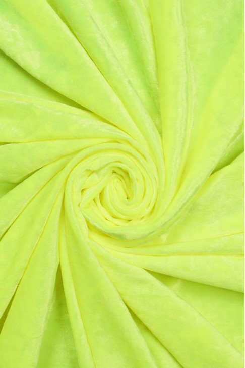 1555 Бархат цв.91 ультра-лимон