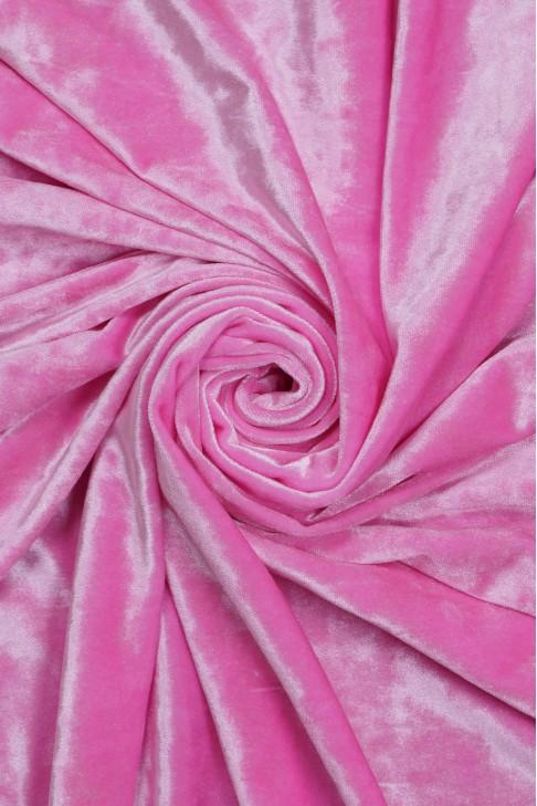 1555 Бархат цв.20 розовый