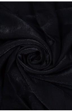 20731 Коттон плательный цв.23 чёрный