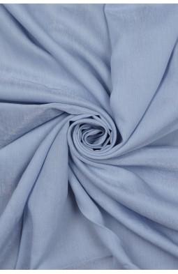 20731 Коттон плательный цв.17 голубой
