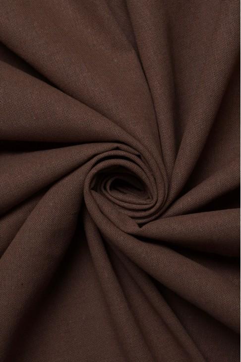 17764 Лён цв.04 коричневый