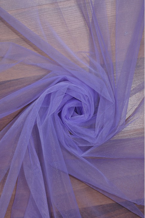 """01669 Фатин мягкий """"Свадебный"""" цв.16 фиолетовый"""