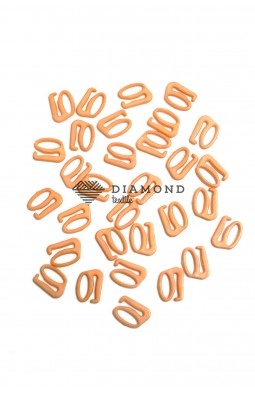 Крючек пластик 10 мм бежевый