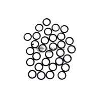 Кольцо металл 10 мм черный