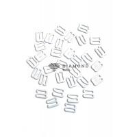 Крючек металл 10 мм белый