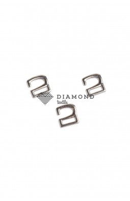 Крючок для обуви цв.никель 10 мм